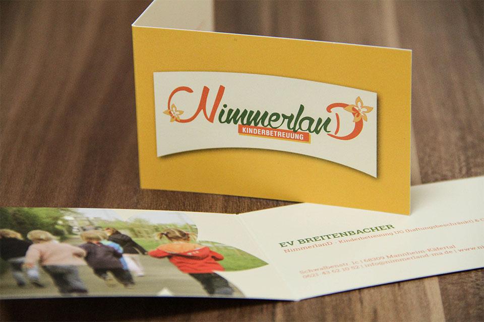 Neitzel Werbeagentur Gbr Nimmerland Kindebetreuung