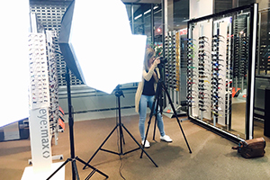 Optik Centrum Molwitz Fotoshooting