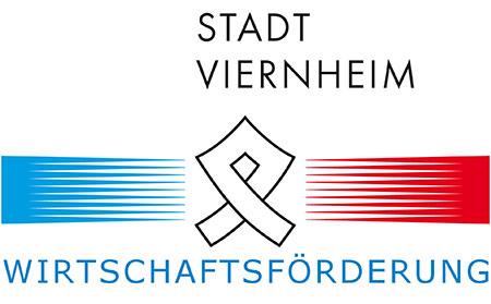 Logo Wirtschaftsförderung Viernheim