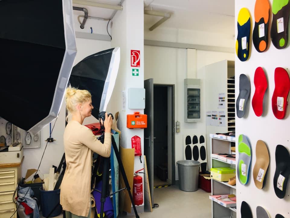 Imagefotografie für Comfortho Orthopädieschuhtechnik
