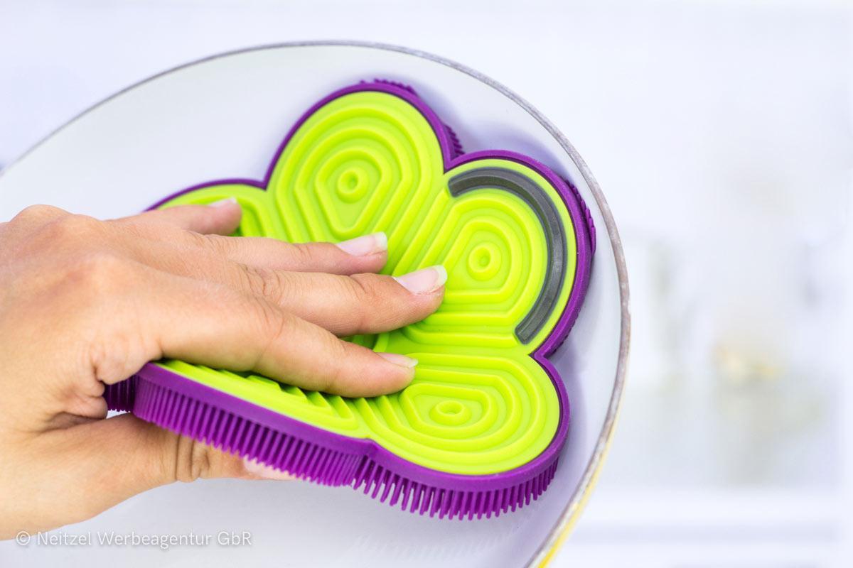Produktfotografie Scrubby Plus Kochblume